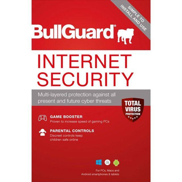 BullGuard Internet Security |3PC - 1jaar