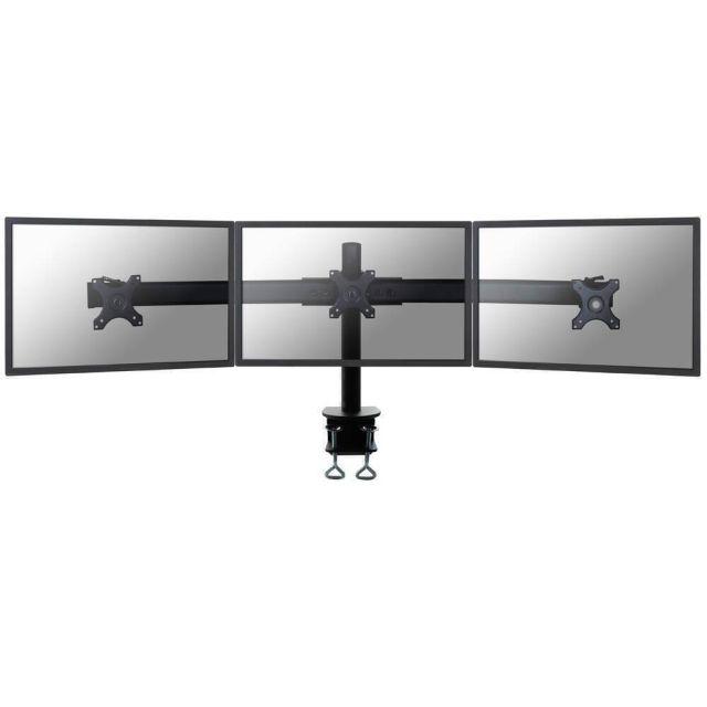 Newstar FPMA-D700D3 flat panel bureau steun 68,6 cm (27 inch) Klem Zwart