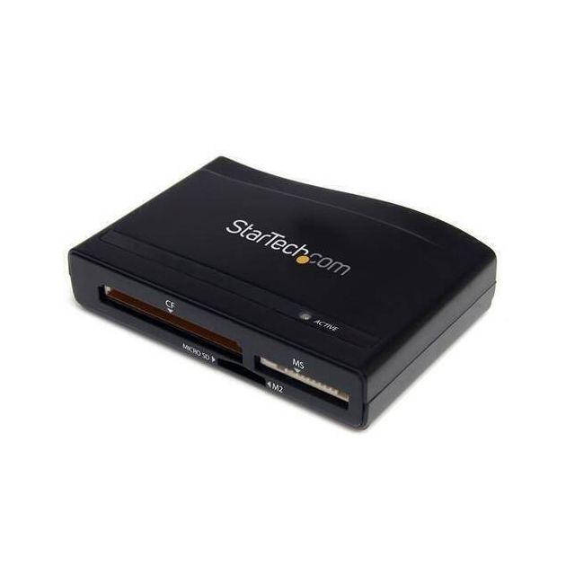 StarTech.com FCREADHCU3 geheugenkaartlezer USB 3.2 Gen 1 (3.1 Gen 1) Zwart