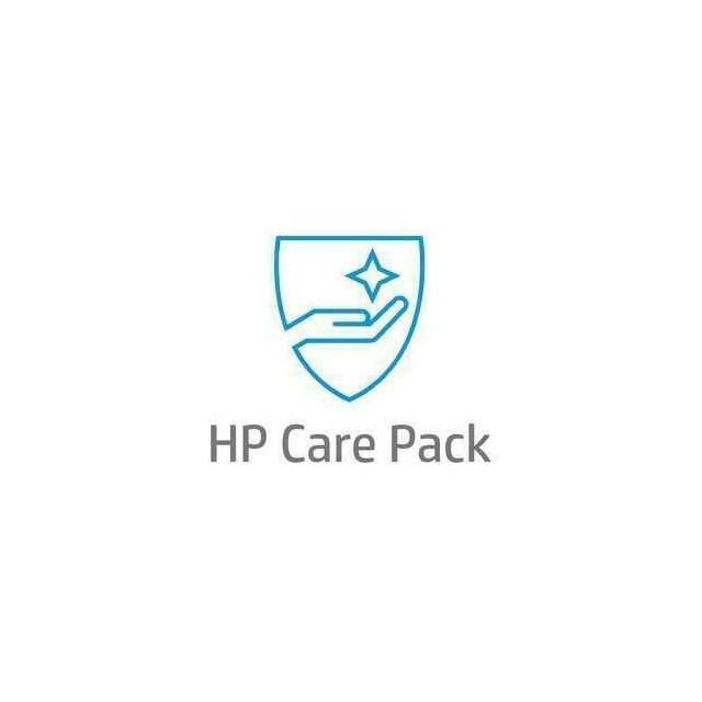 HP 1 jaar Care Pack met exchange op volgende werkdag voor LaserJet printers