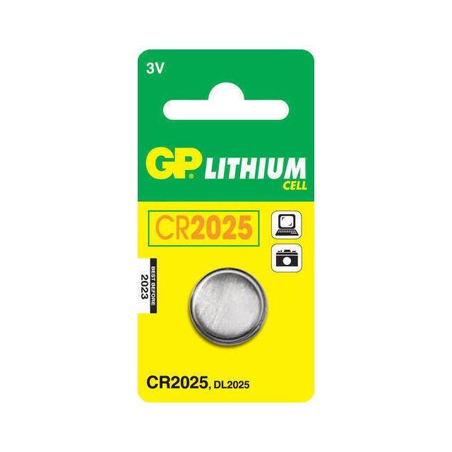 GP Batteries Lithium Cell CR2025 Wegwerpbatterij