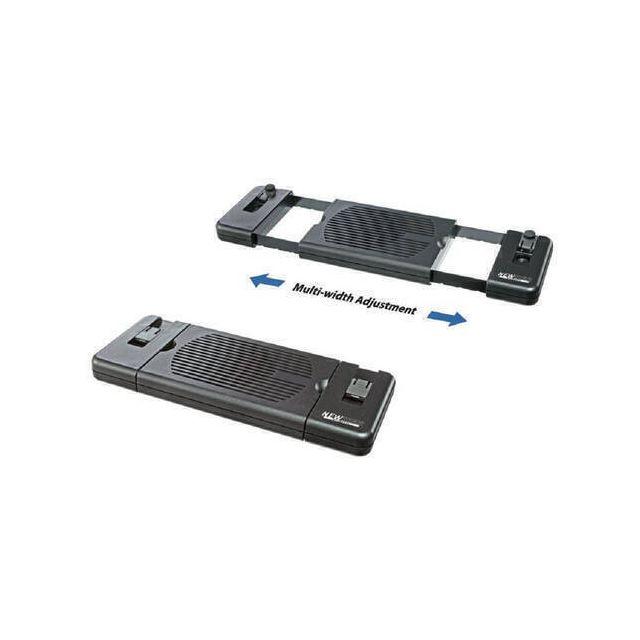 Newstar NSLC200 notebook cooling pad 55,9 cm (22 inch) Zwart