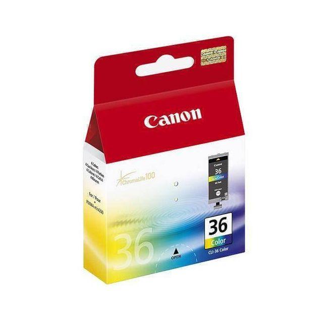 Canon CLI-36 Col inktcartridge 1 stuk(s) Origineel Normaal rendement Cyaan, Magenta, Geel