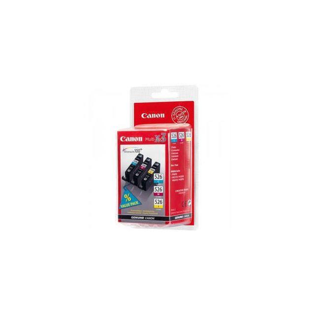 Canon CLI-526 C/M/Y inktcartridge 3 stuk(s) Origineel Cyaan, Magenta, Geel