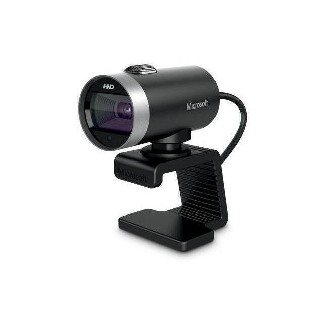 Microsoft LifeCam Cinema webcam 1 MP 1280 x 720 Pixels USB 2.0 Zwart