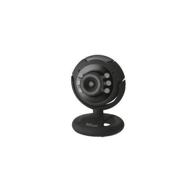 Trust SpotLight Pro webcam 1,3 MP 1280 x 1024 Pixels USB 2.0 Zwart