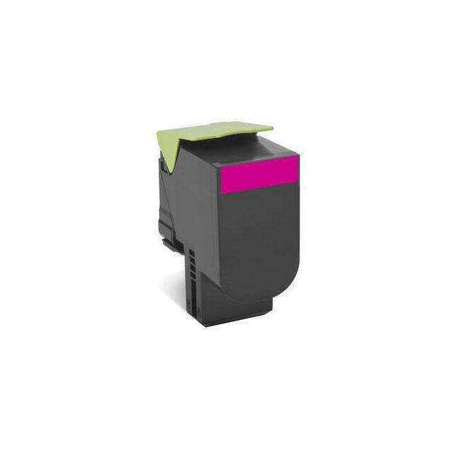 Lexmark 802SM toner cartridge 1 stuk(s) Origineel Magenta