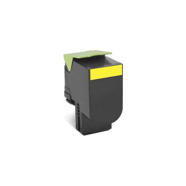 Lexmark 802SY toner cartridge 1 stuk(s) Origineel Geel
