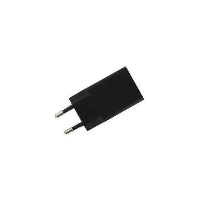 USB Adapter/Reislader 5V 1.2A 6W zwart