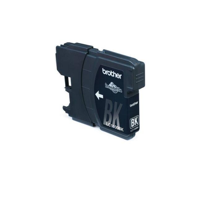 Brother LC-1100BK Black Ink Cartridge 2 stuks inktcartridge 2 stuk(s) Origineel Zwart