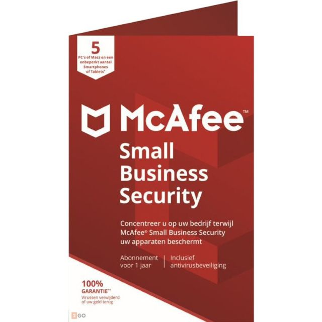 McAfee Small Business Security 2021 | Windows - Mac - Android - iOS