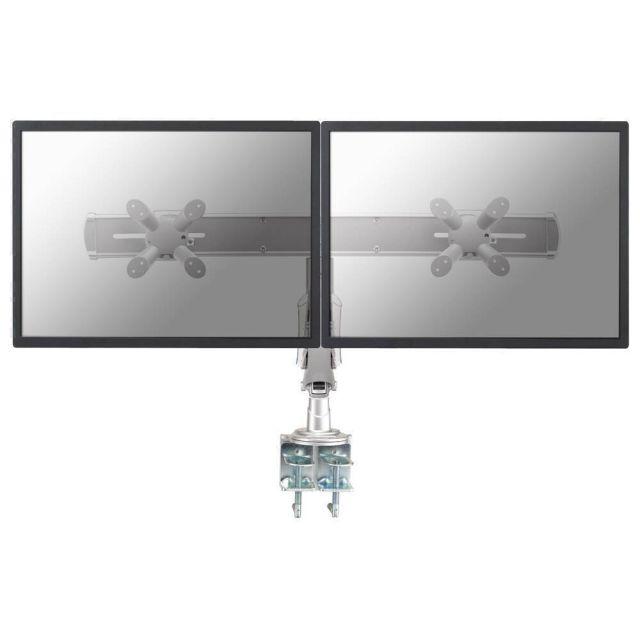 Newstar FPMA-D940D flat panel bureau steun 61 cm (24 inch) Klem Zilver