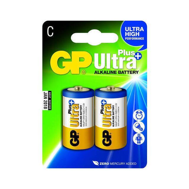 GP Batteries Ultra Plus Alkaline C Wegwerpbatterij