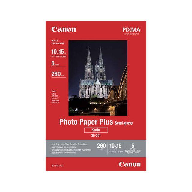 Canon Photo Paper Plus SG-201 pak fotopapier