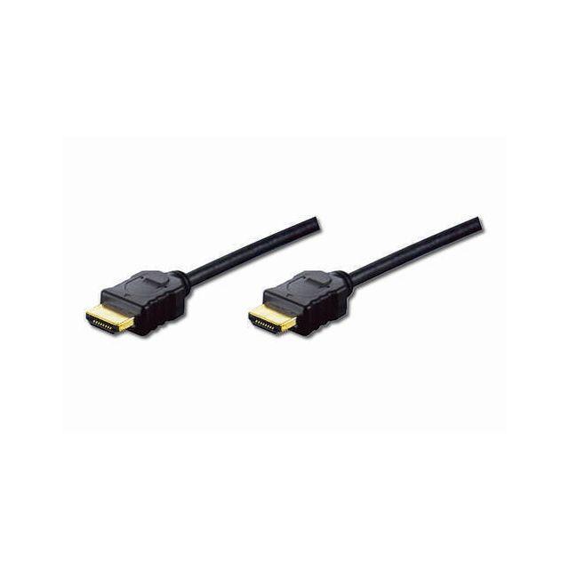 Digitus HDMI 1.4 3m HDMI kabel HDMI Type A (Standaard) Zwart