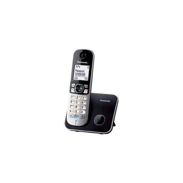 Panasonic KX-TG6811 DECT-telefoon Nummerherkenning Zwart