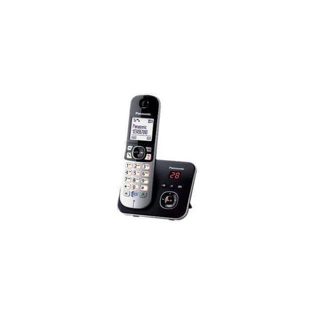 Panasonic KX-TG6821 DECT-telefoon Nummerherkenning Zwart