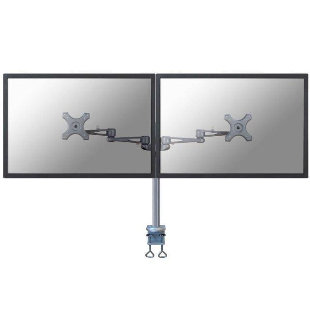 Newstar FPMA-D935D flat panel bureau steun 68,6 cm (27 inch) Klem Zilver