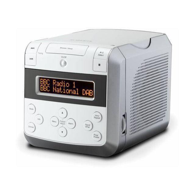Roberts clock radio White with DAB/DAB+/