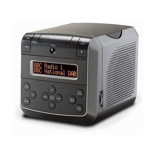 Roberts clock radio Black with DAB/DAB+/