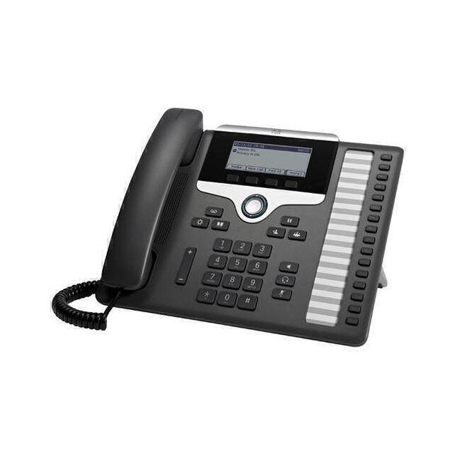 Cisco 7861 IP telefoon Zwart, Zilver 16 regels LCD