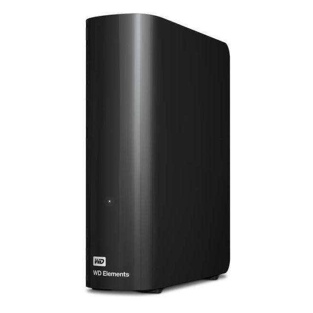 Western Digital WD Elements Desktop externe harde schijf 4000 GB Zwart