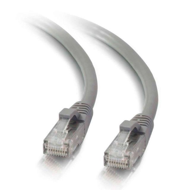 C2G 83141 netwerkkabel Grijs 1 m Cat5e U/UTP