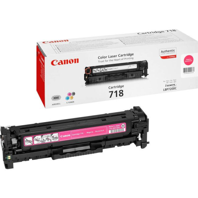 Canon CRG-718 M toner cartridge 1 stuk(s) Origineel Magenta