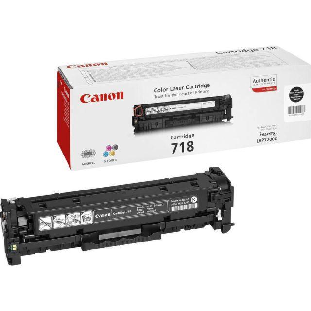 Canon CRG-718 Bk toner cartridge 1 stuk(s) Origineel Zwart