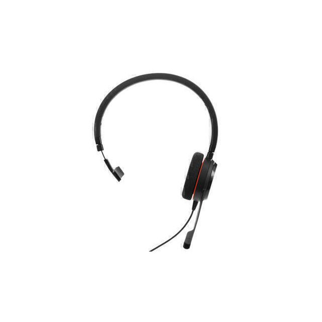 Jabra Evolve 20 MS Mono Headset Hoofdband USB Type-A Zwart
