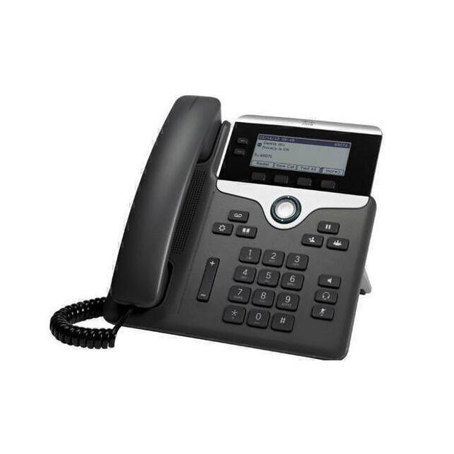 Cisco 7811 IP telefoon Zwart, Zilver 1 regels LED