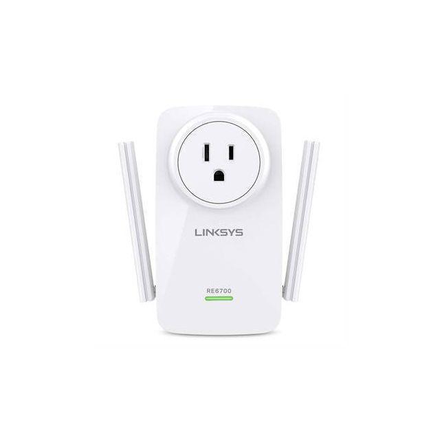 Linksys RE6700 Ethernet LAN Wi-Fi Wit 1 stuk(s)