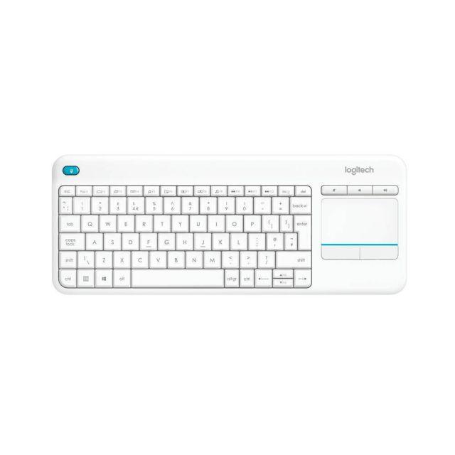 Logitech K400 Plus toetsenbord RF Draadloos QWERTY US International Wit