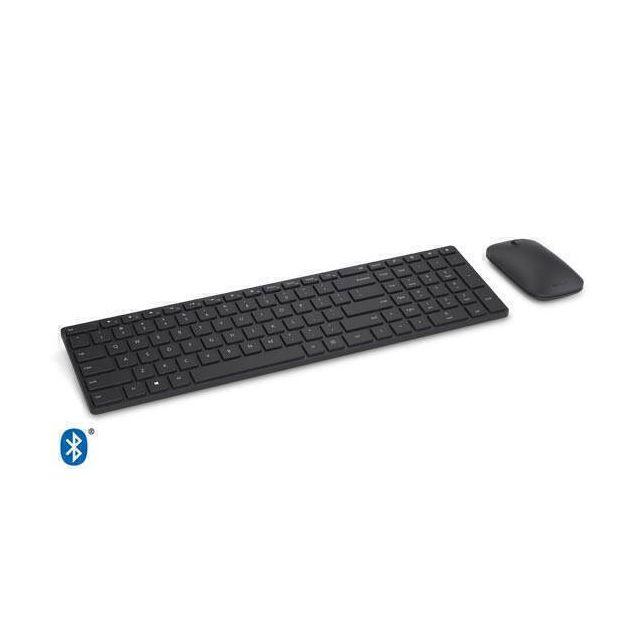 Microsoft Designer toetsenbord Bluetooth AZERTY Frans Zwart