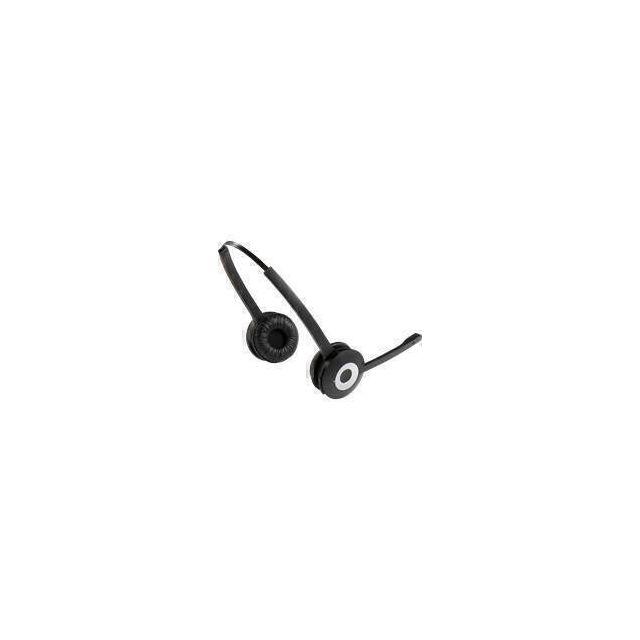 Jabra PRO 930 Duo MS Headset Hoofdband Zwart