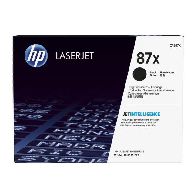 HP 87X originele high-capacity zwarte LaserJet tonercartridge