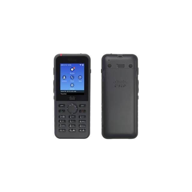 Cisco 8821 IP telefoon Zwart Wi-Fi