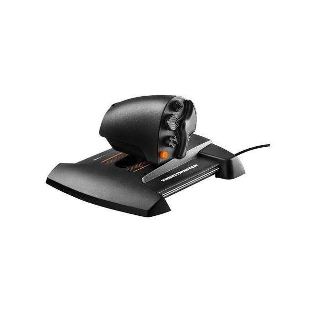 Thrustmaster TWCS Throttle Zwart, Oranje USB Bewegingscontroller Analoog/digitaal MAC, PC
