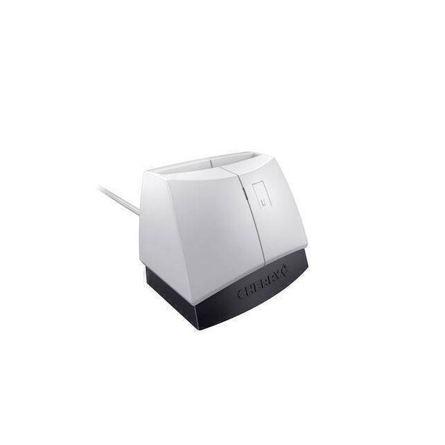 CHERRY SmartTerminal ST-1144 smart card reader USB 2.0 Zwart, Grijs
