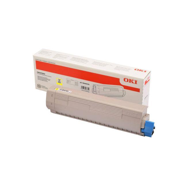 OKI 46443101 toner cartridge 1 stuk(s) Origineel Geel
