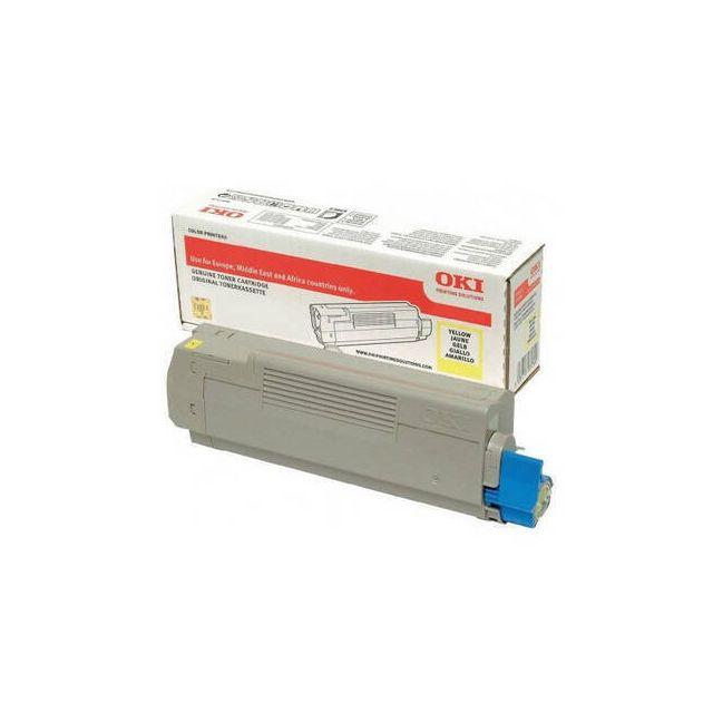 OKI 46471101 toner cartridge 1 stuk(s) Origineel Geel
