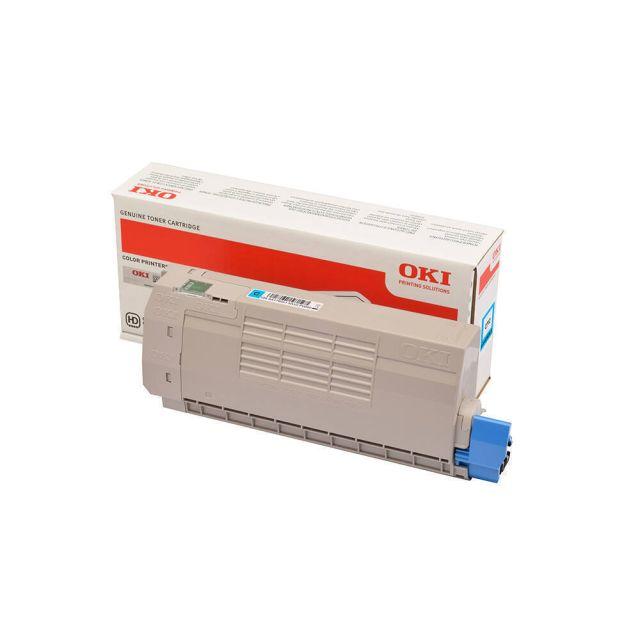 OKI 46507615 toner cartridge 1 stuk(s) Origineel Cyaan
