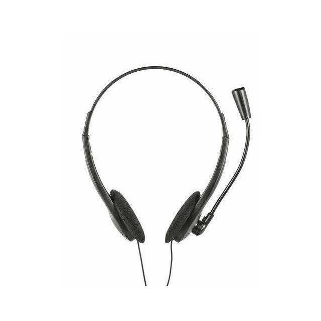 Trust 21665 headphones/headset In-ear 3.5 mm connector Zwart