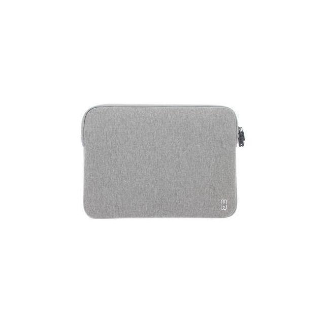 MW 410002 notebooktas 33 cm (13 inch) Opbergmap/sleeve Grijs, Wit
