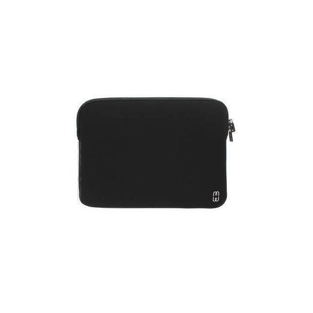 MW 410003 notebooktas 33 cm (13 inch) Opbergmap/sleeve Zwart, Wit