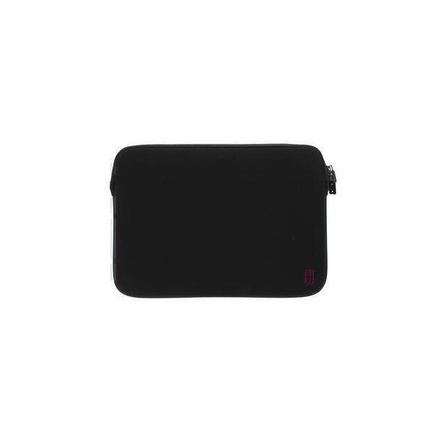 MW 410007 notebooktas 33 cm (13 inch) Opbergmap/sleeve Zwart, Kers