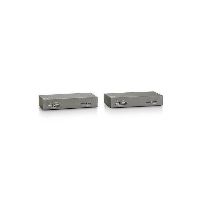LevelOne KVM-9006 KVM-switch Zwart