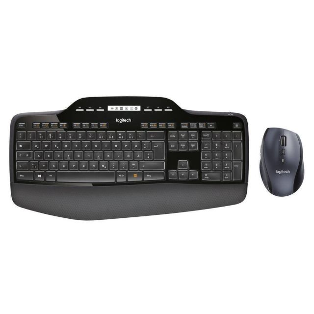 Logitech MK710 toetsenbord RF Draadloos QWERTZ Zwitsers Zwart