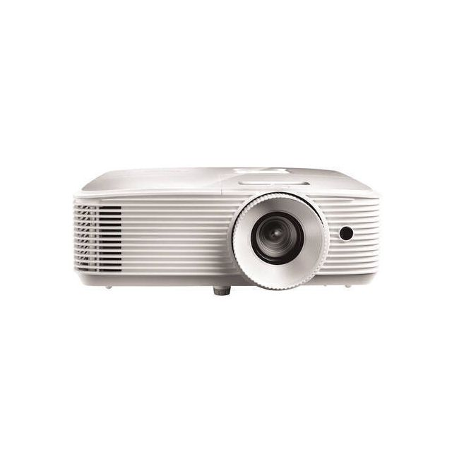 Optoma EH334 beamer/projector Projector met normale projectieafstand 3600 ANSI lumens DLP 1080p (1920x1080) 3D-compatibiliteit Wit