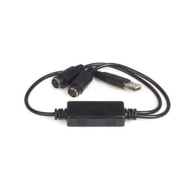 StarTech.com USB naar PS2 Toetsenbord en Muis Adapter
